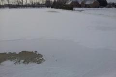 ijsbaan in de sneeuw 15-01-2013